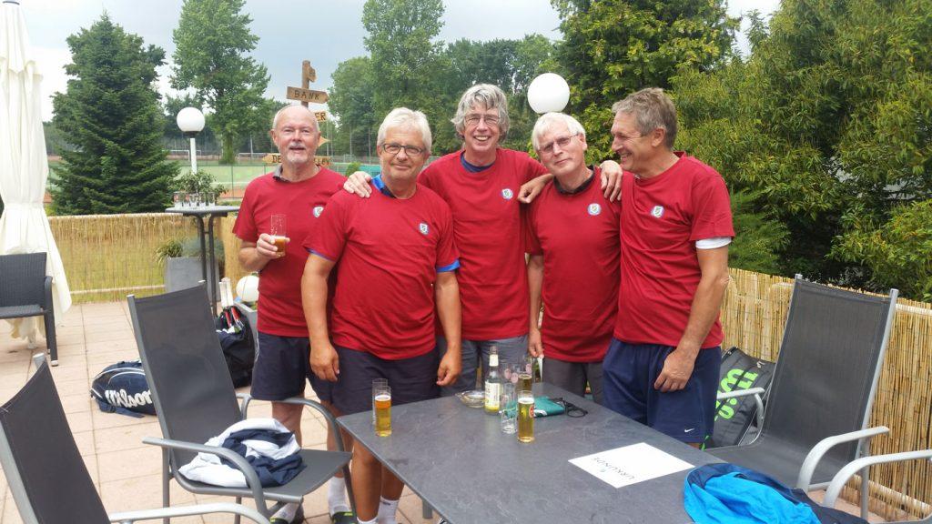 TCW Weiden: Herren 60 Vize-Bezirkspokalsieger