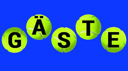 Gastspieler für Tennis wieder erlaubt